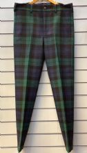 Government Tartan Trousers